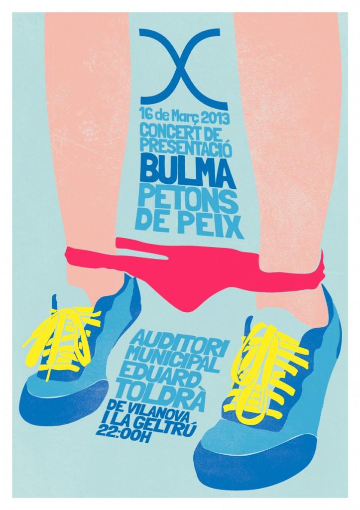 Cartell de Bulma a l'Auditori Eduard Toldrà del cicle B de VNG